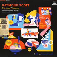 Raymond Scott - The Jingle Workshop: Midcentury Musical Miniatures 1951-1965 Black Friday Record Store Day 2019 Edition