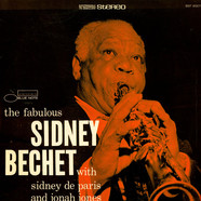 Sidney Bechet With Sidney De Paris And Jonah Jones - The Fabulous Sidney Bechet
