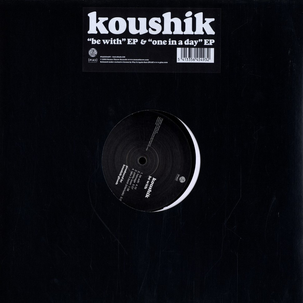 Koushik - Be with & one in a day EP