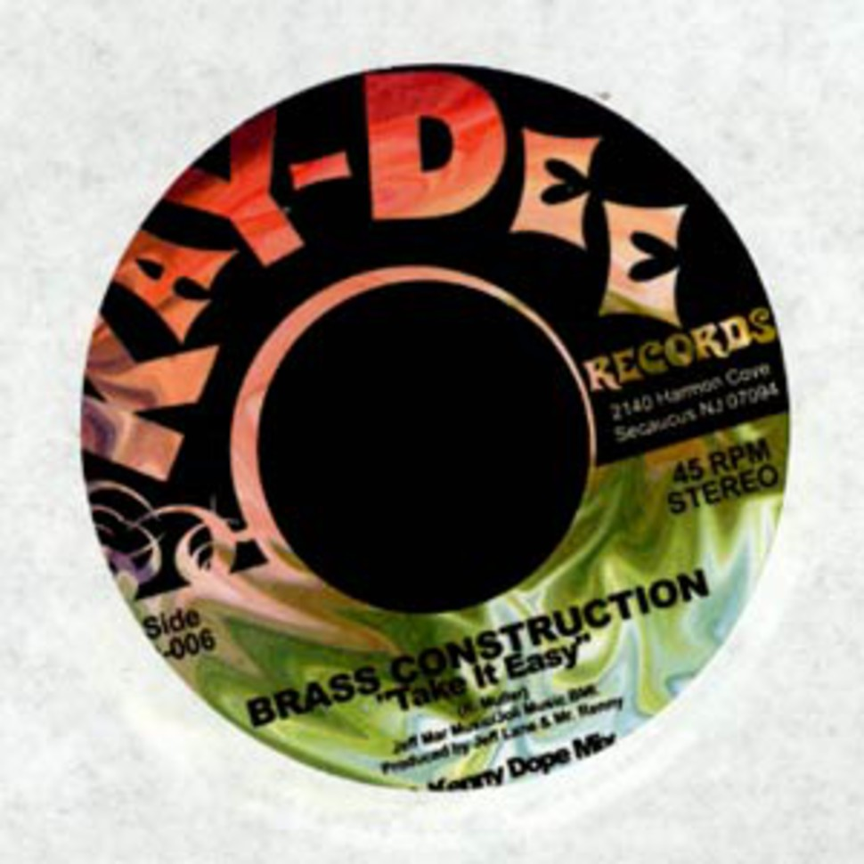 Brass Construction - Take it easy Kenny Dope mix