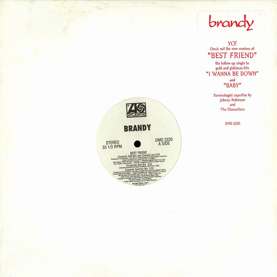 Brandy - Best friend - Vinyl 12