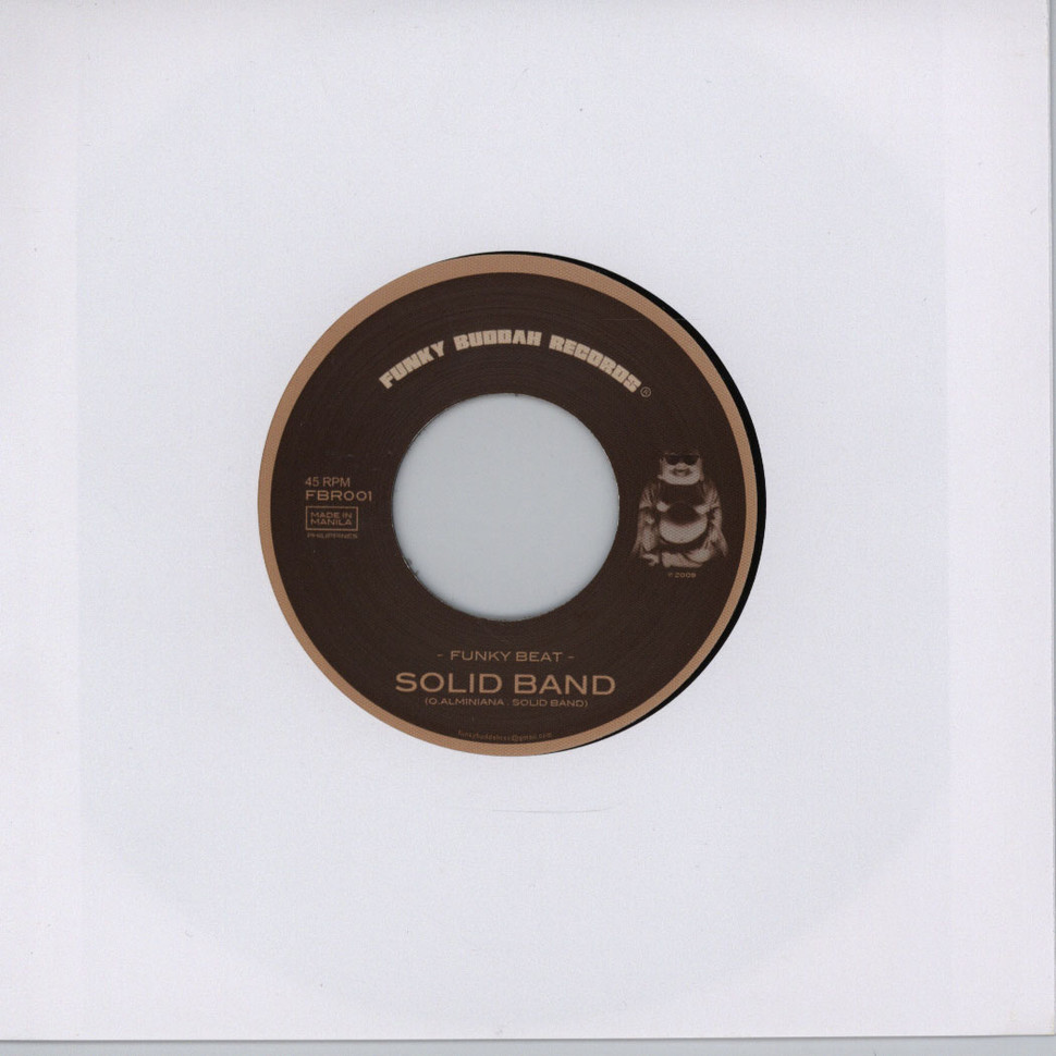 Solid Band / Soul Jugglers - Funky beat