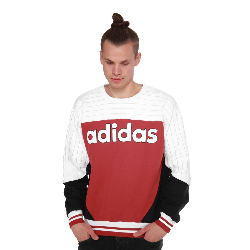 best website 3cc79 77ea7 adidas x Nigo - Nigo Blocked Crew Sweater