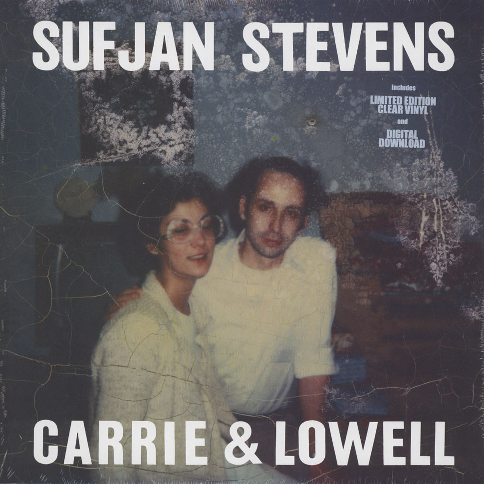 Sufjan Stevens - Carrie & Lowell Clear Vinyl Edition