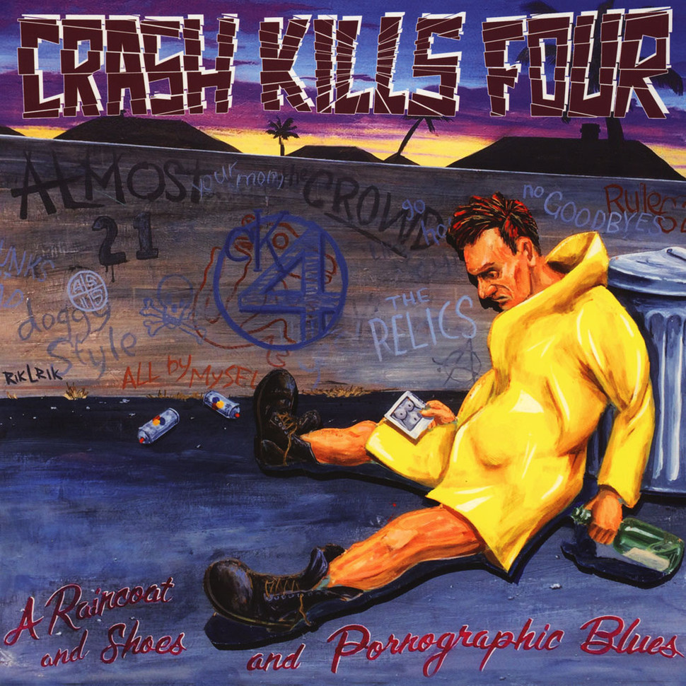 Crash Kills Four! - A Raincoat And Shoes And Pornographic Colored Vinyl Edition