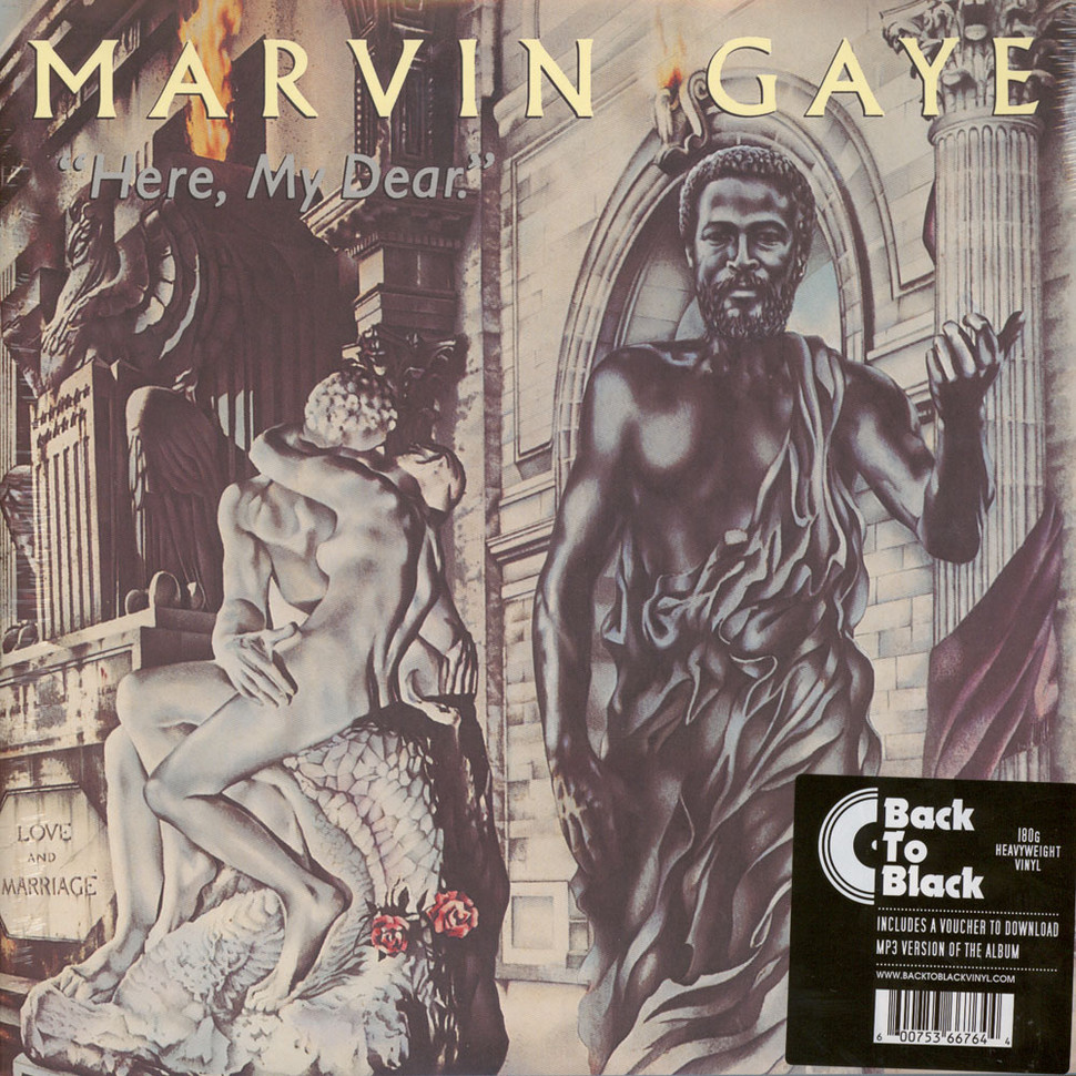 Marvin Gaye - Here, My Dear Back To Black Edition