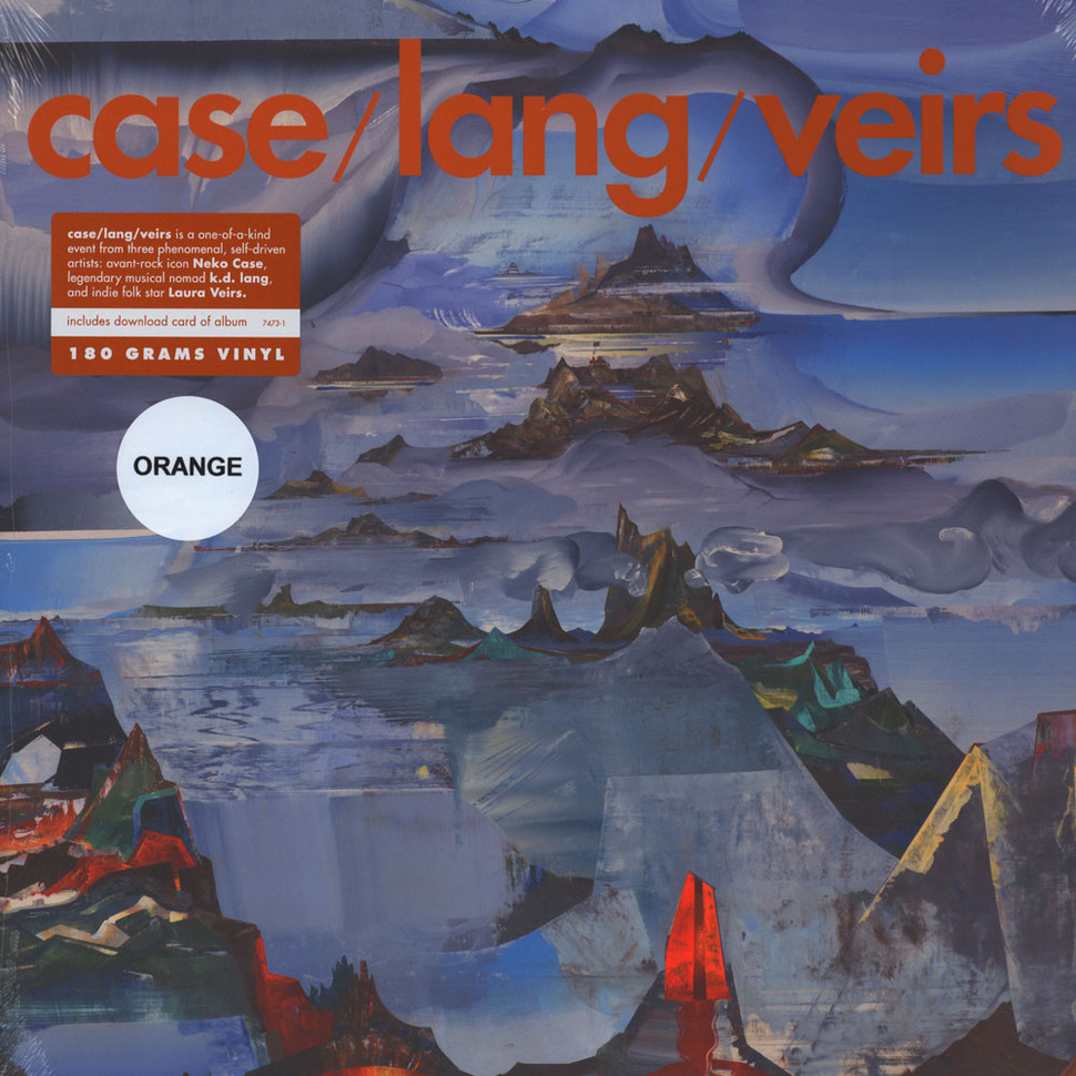 Case / Lang / Veirs - Case / Lang / Veirs Deluxe Edition Orange Vinyl