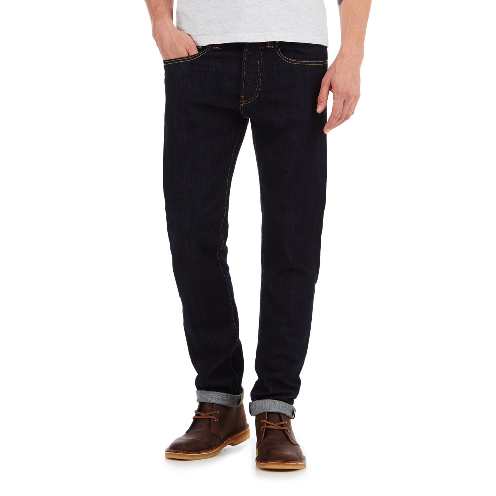 Edwin ED 80 Slim Tapered Pants CS Red Listed Selvage Denim, 10.5oz 3032
