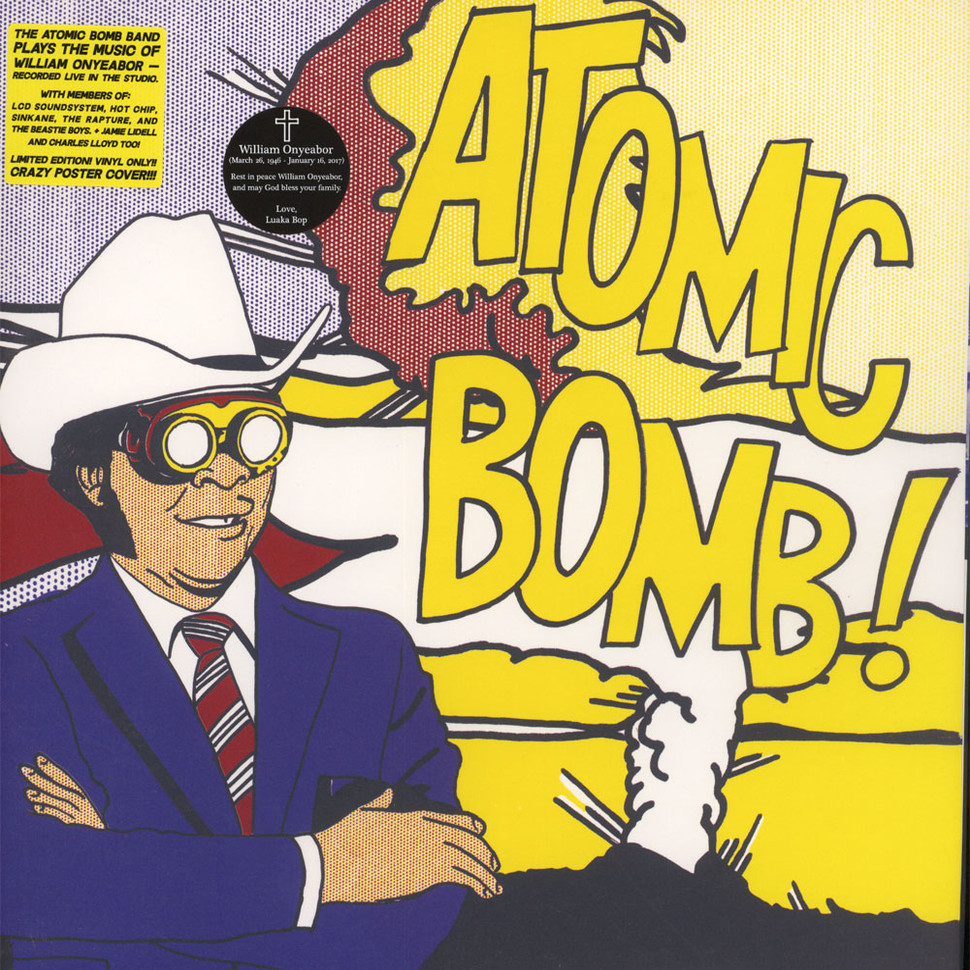 Atomic Bomb Band - Plays the Music of William Onyeabor