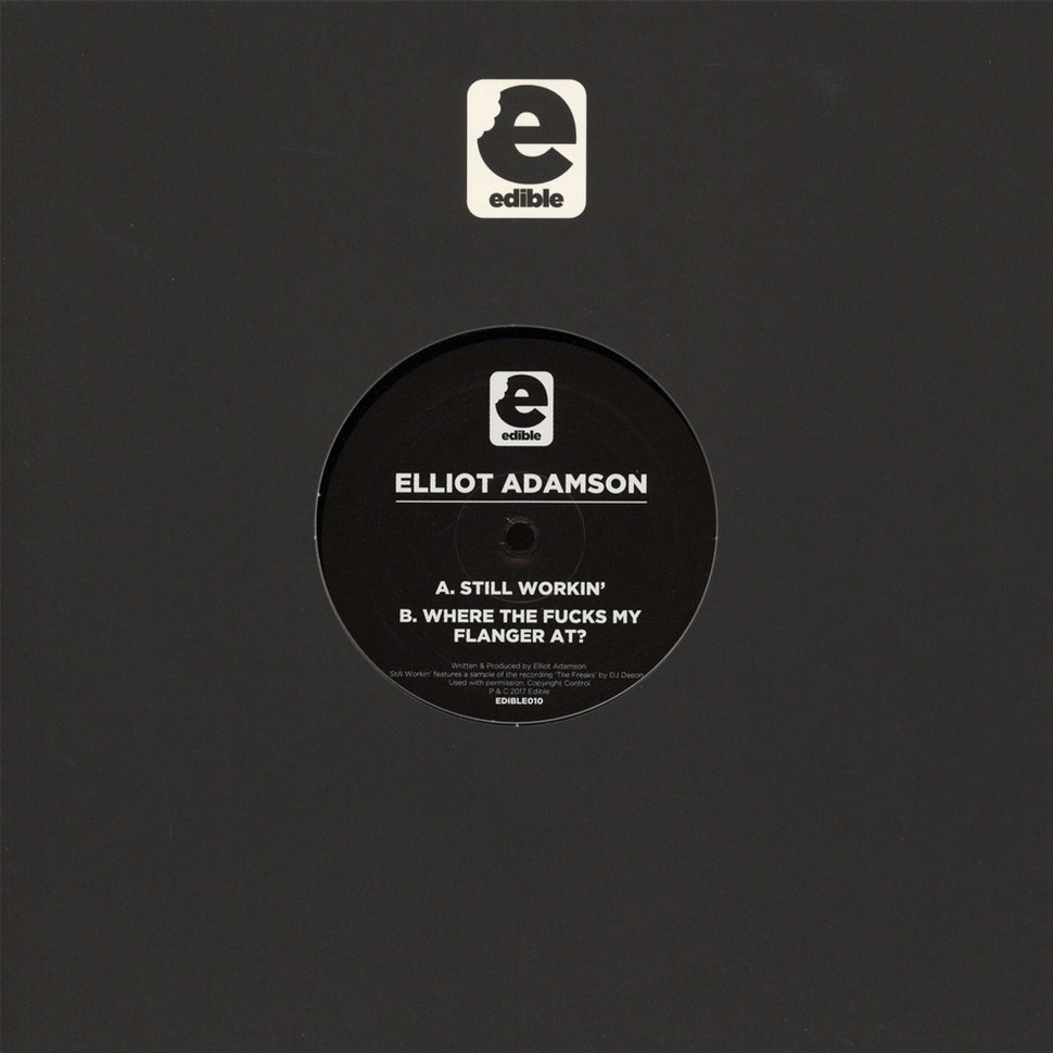 Elliot Adamson - Still Workin