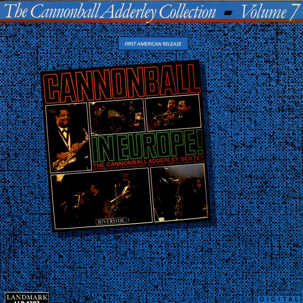 Cannonball Adderley - Cannonball In Europe!