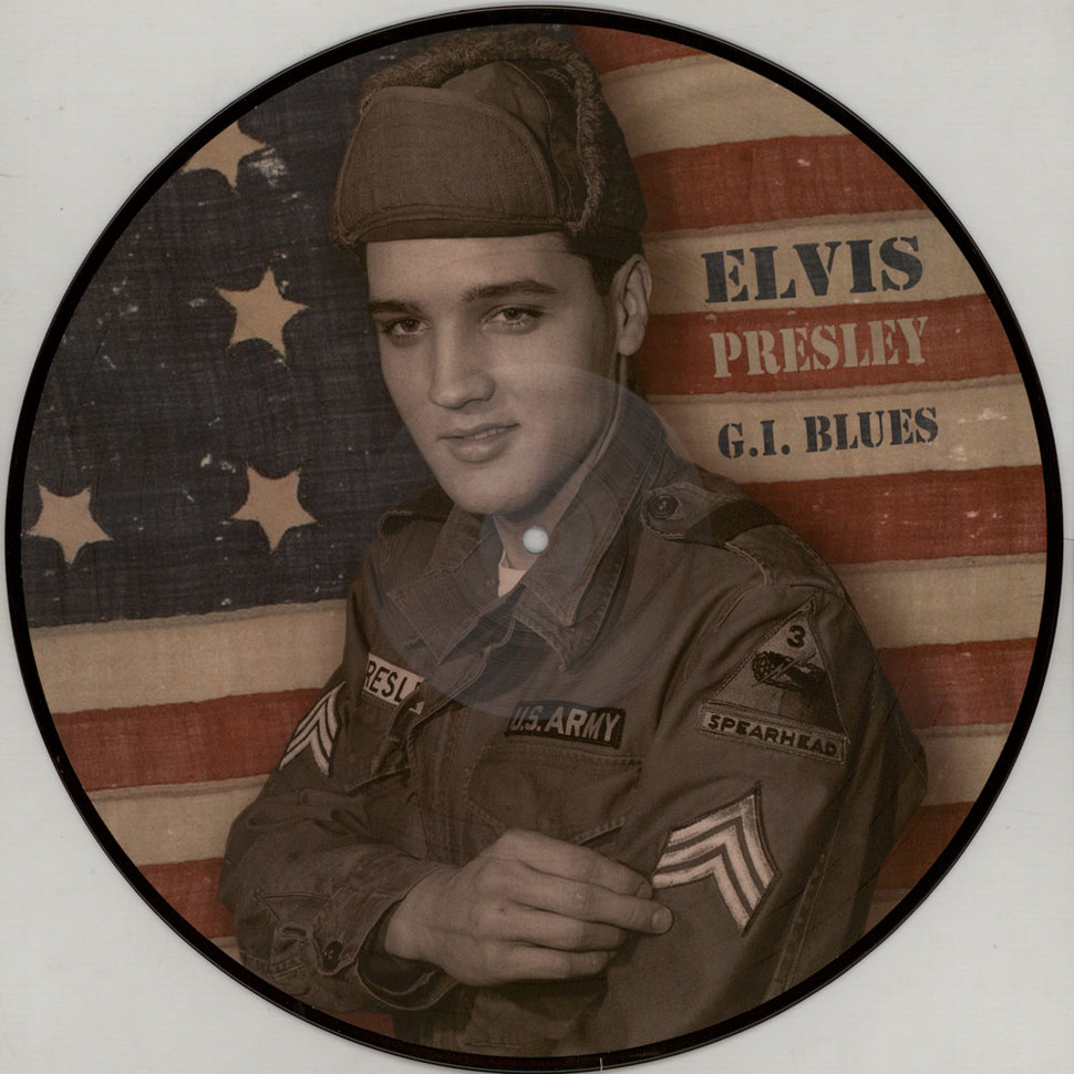 Elvis Presley - G.I. Blues Picture Disc Edition