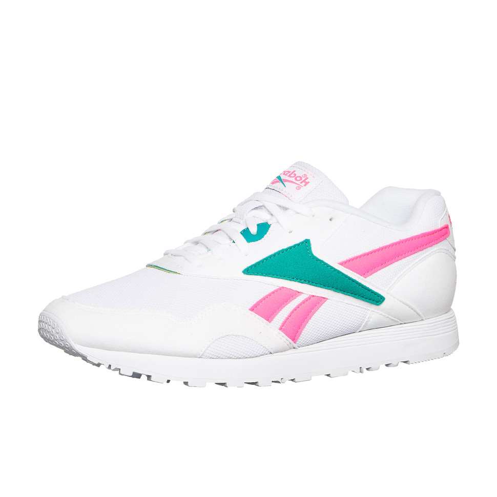 Tea de sport Acid Rapide Chaussures Reebok Pink blanches Mu Totally T04qfn1w5