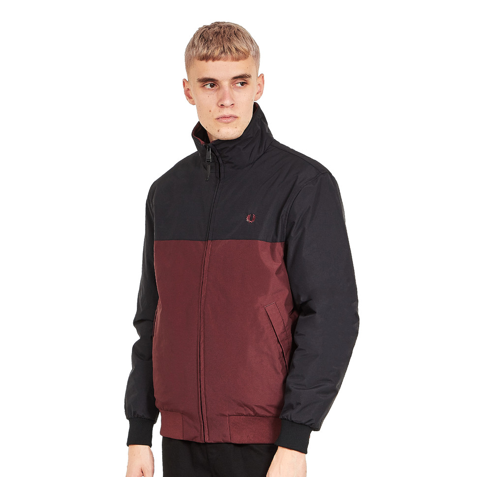 Fred Perry - Panelled Quilted Brentham Jacket