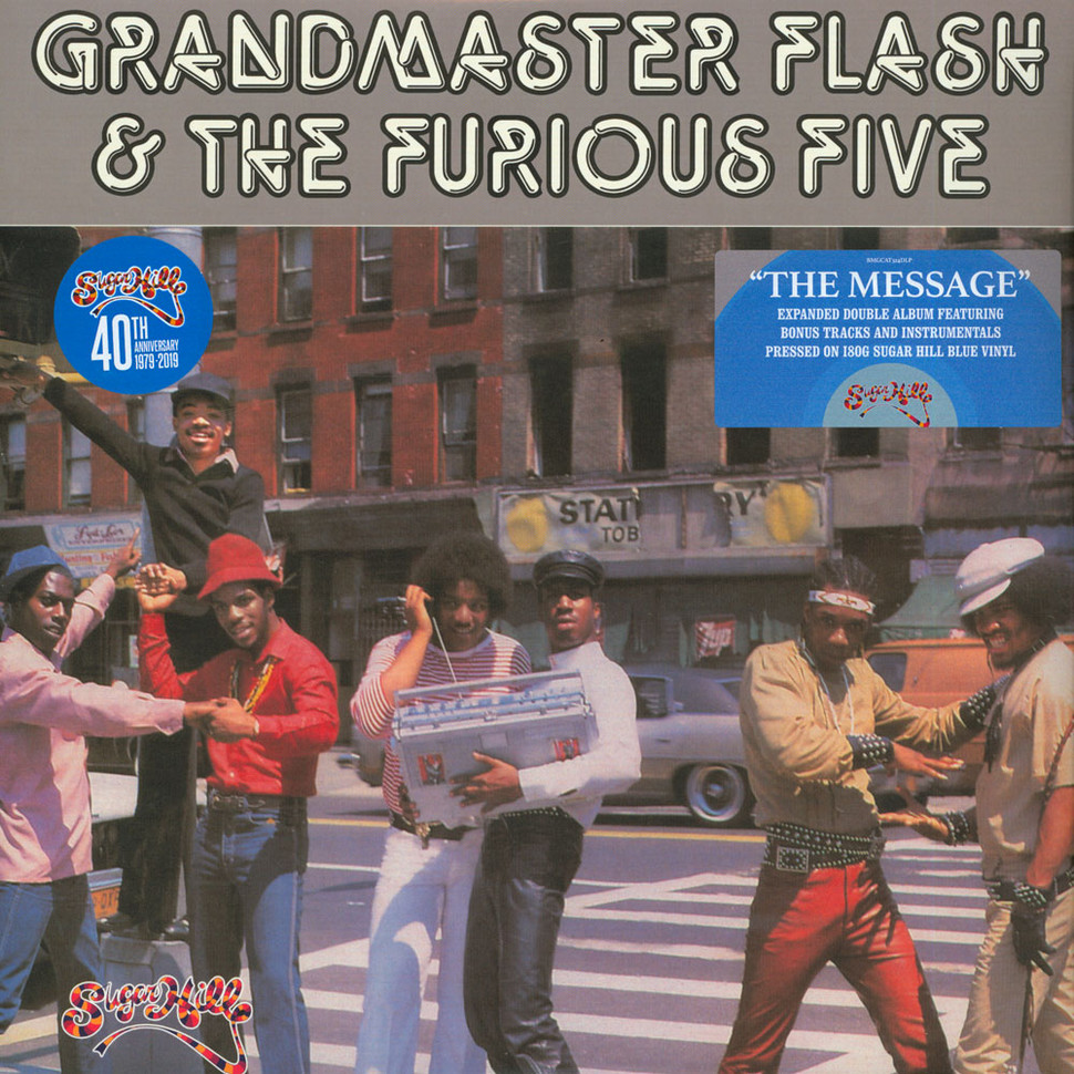Grandmaster Flash & The Furious Five - The Message Expanded Blue Vinyl  Record Store Day 2019 Edition