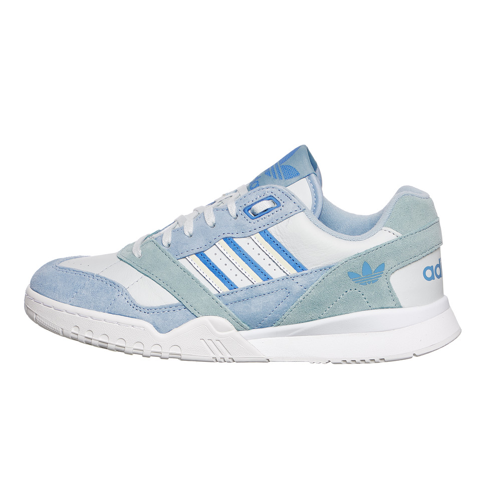 Adidas Superstar Triple Blau Textile Lace Up Turnschuhe