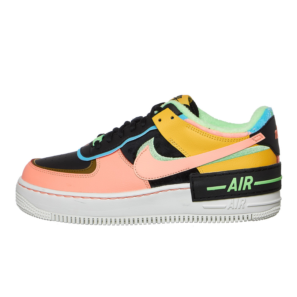 Nike Air Force 1 Shadow Se Solar Flare Atomic Pink Baltic Blue Hhv Wmns air force 1 shadow 'triple white'. nike air force 1 shadow se us 7 eu 38 uk 4 5 24