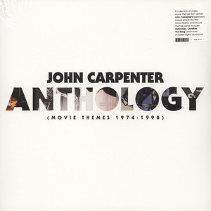 John Carpenter - Anthology: Movie Themes 1974-1998 Black Vinyl Edition