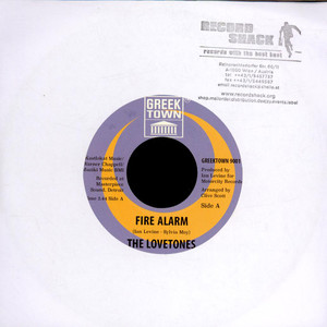 The Love-Tones - Fire Alarm / On The Other Side