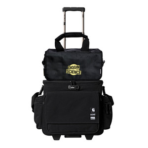 Carhartt WIP x UDG x HHV x magma - Sling Bag Trolley »For The Record« & 45 Record-Bag (150)