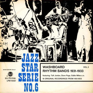 V.A. - Washboard Rhythm Bands 1931-1933 Vol. 2