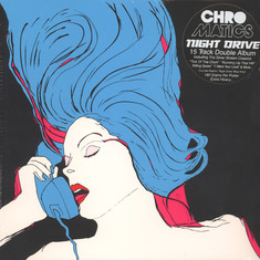 Chromatics - Night Drive Opaque Electric Blue Vinyl Deluxe Edition