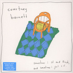 Courtney Barnett - Sometimes I Sit And Think, And Sometimes Orange Vinyl Edition