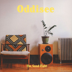 Oddisee - The Good Fight Yellow Splatter Vinyl Edition