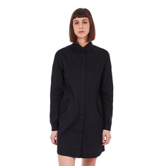 Fred Perry - Textured Parka-Detail Shirt Dress
