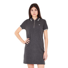 Fred Perry - Twin Tipped Zip Neck Dress